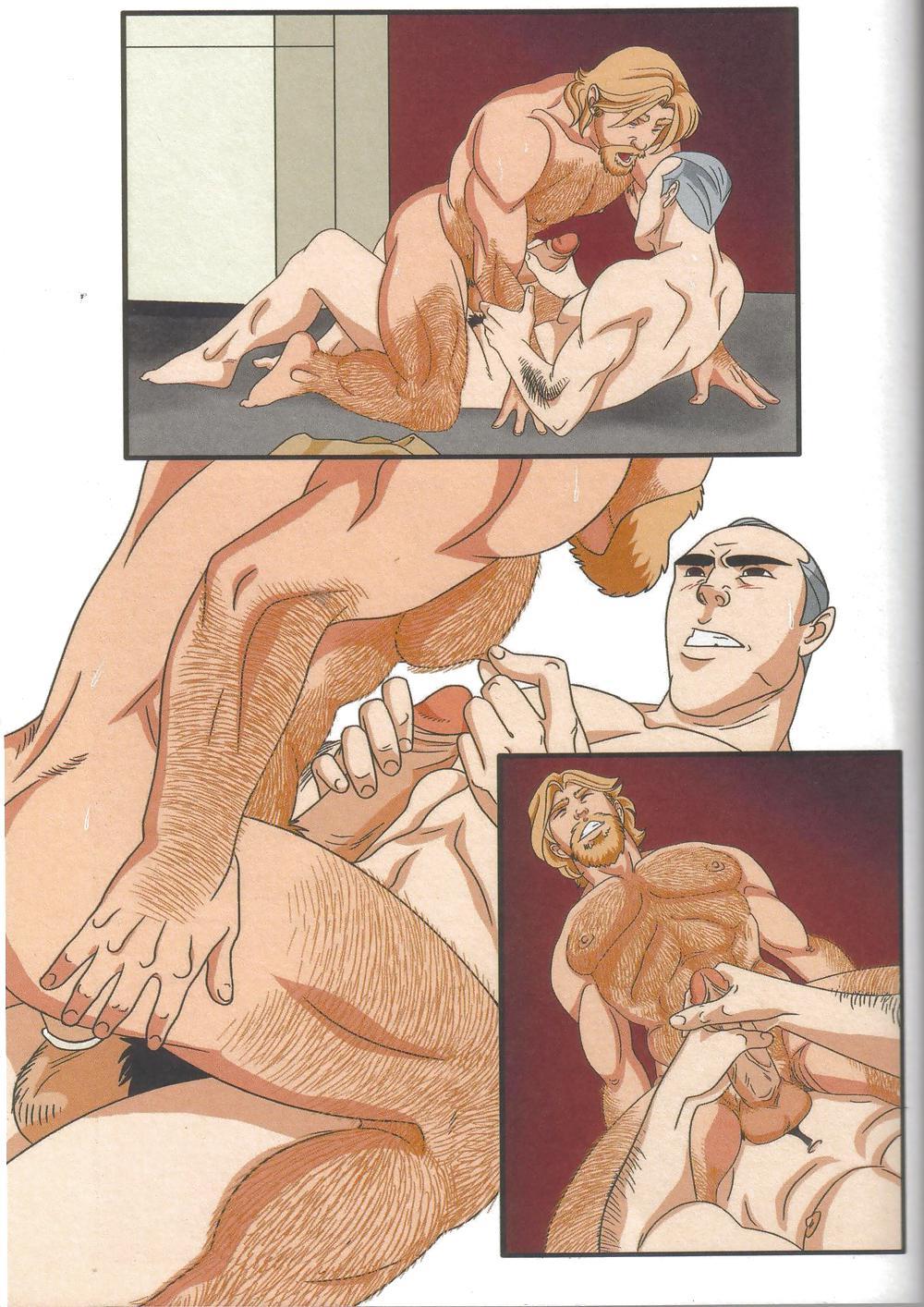 Геи Секс Порно Комикс