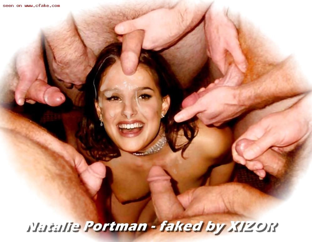 Natalie Portman Porno Bukkake