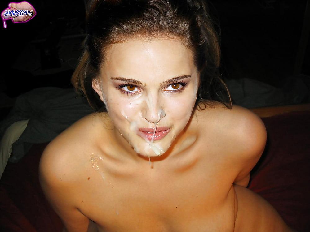 Natalie Portman Cum