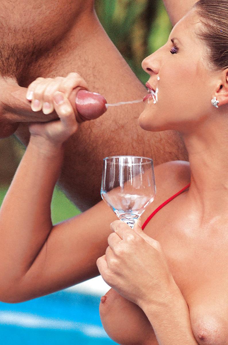 Порно Видео Жена Пьет Сперму