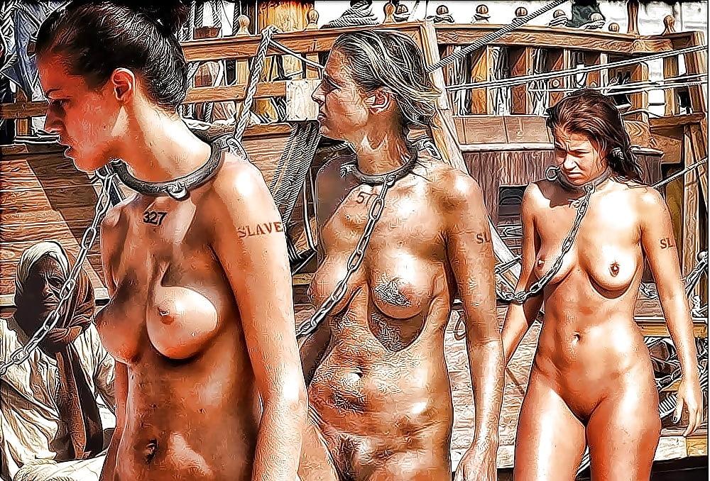 Обнаженные Рабыни