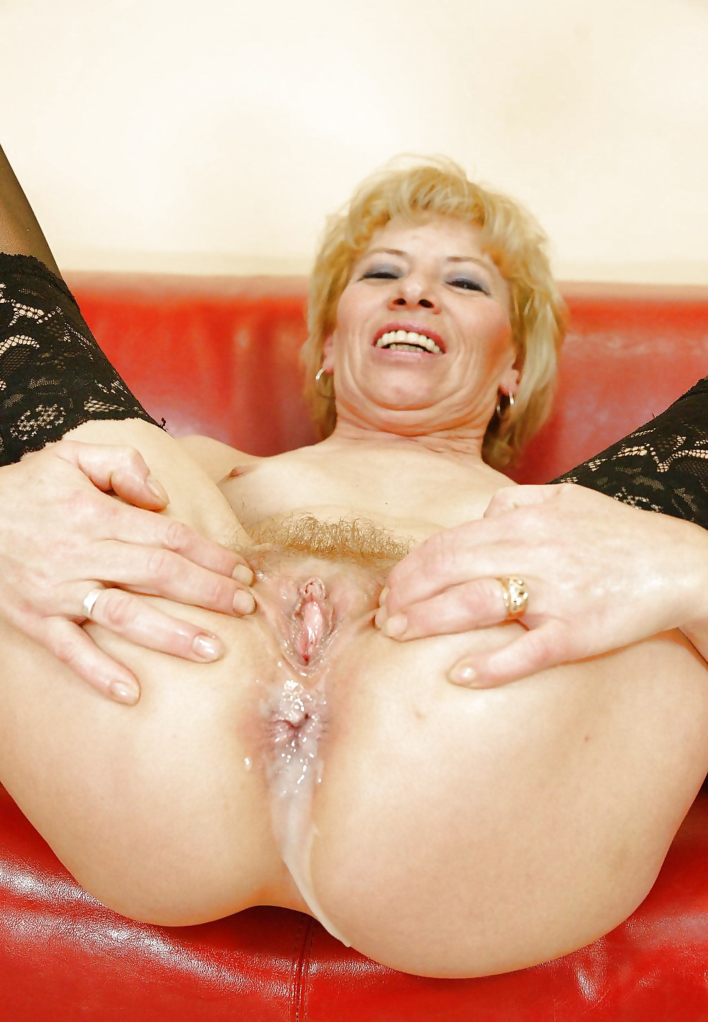Creampie Old Lady