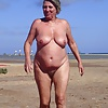 She loves to get naked at the beach....