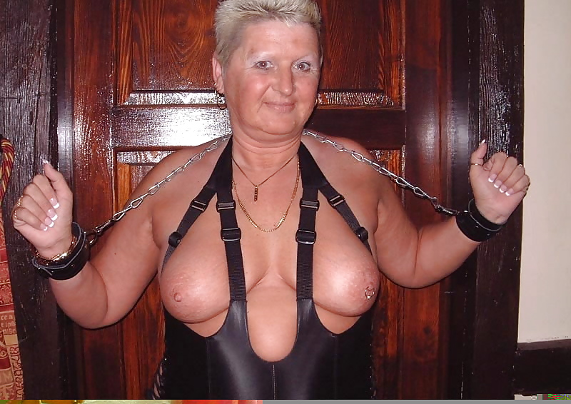 Bdsm category of this granny porn site