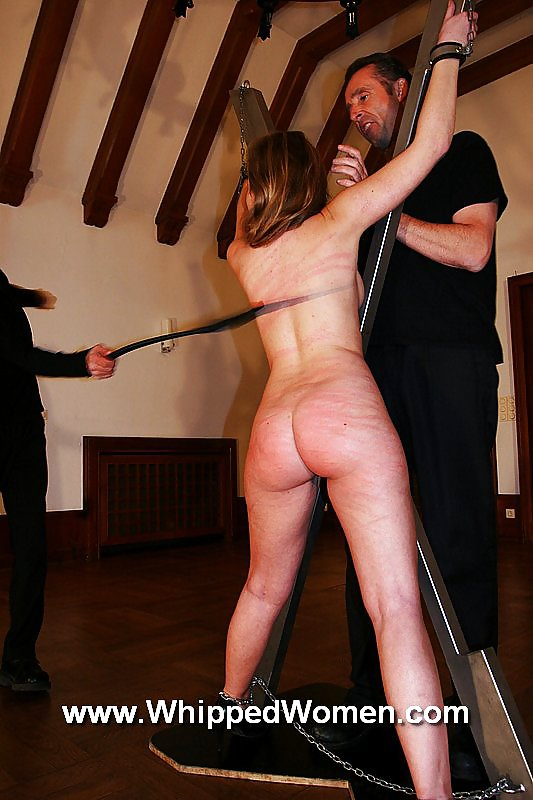 Wife tied naked to tree and whipped