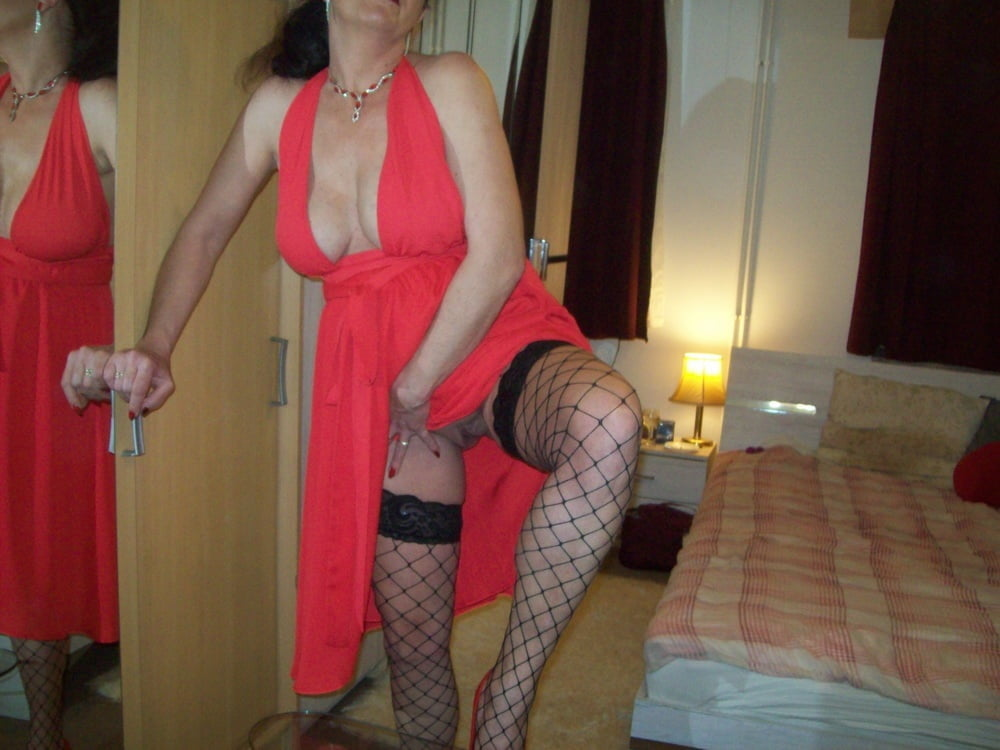 High heels and red dress by Wildcat - 58 Pics