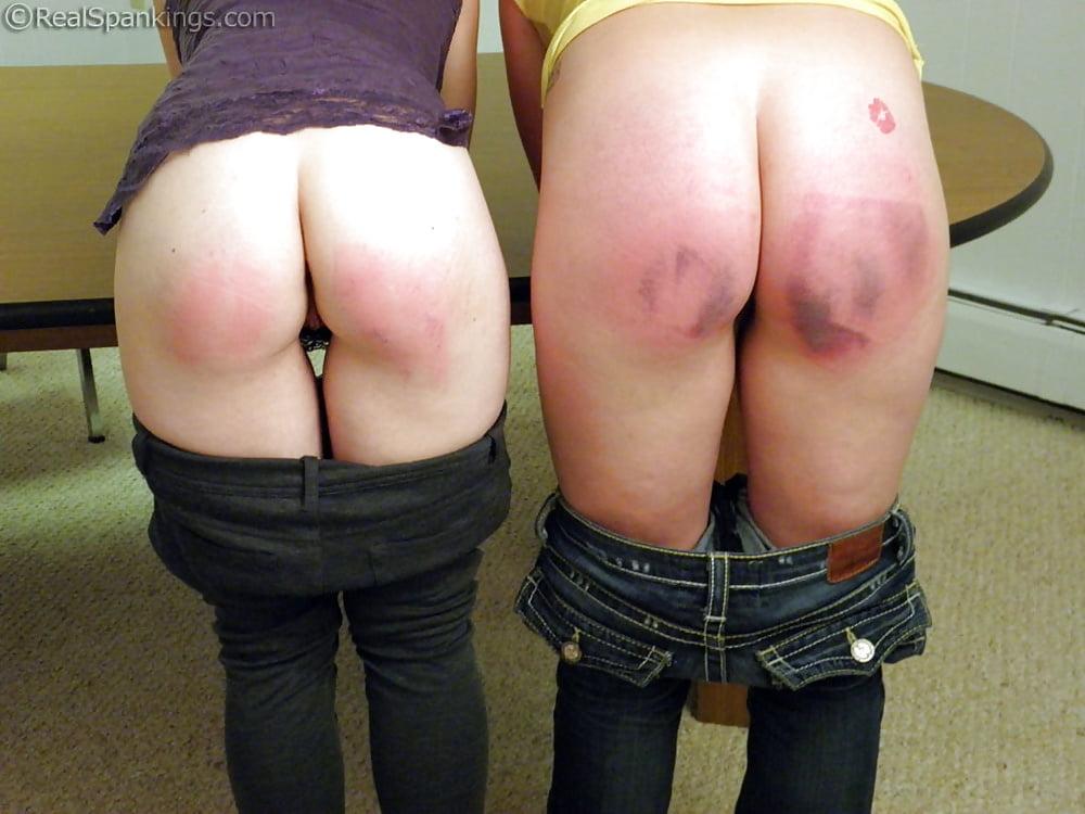 Watch bad girls get spanked
