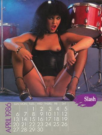Hustler nude calendars