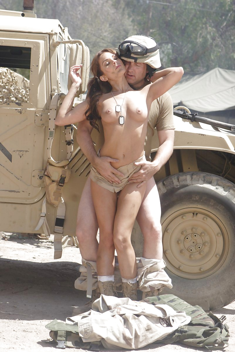 Naked females in military #15