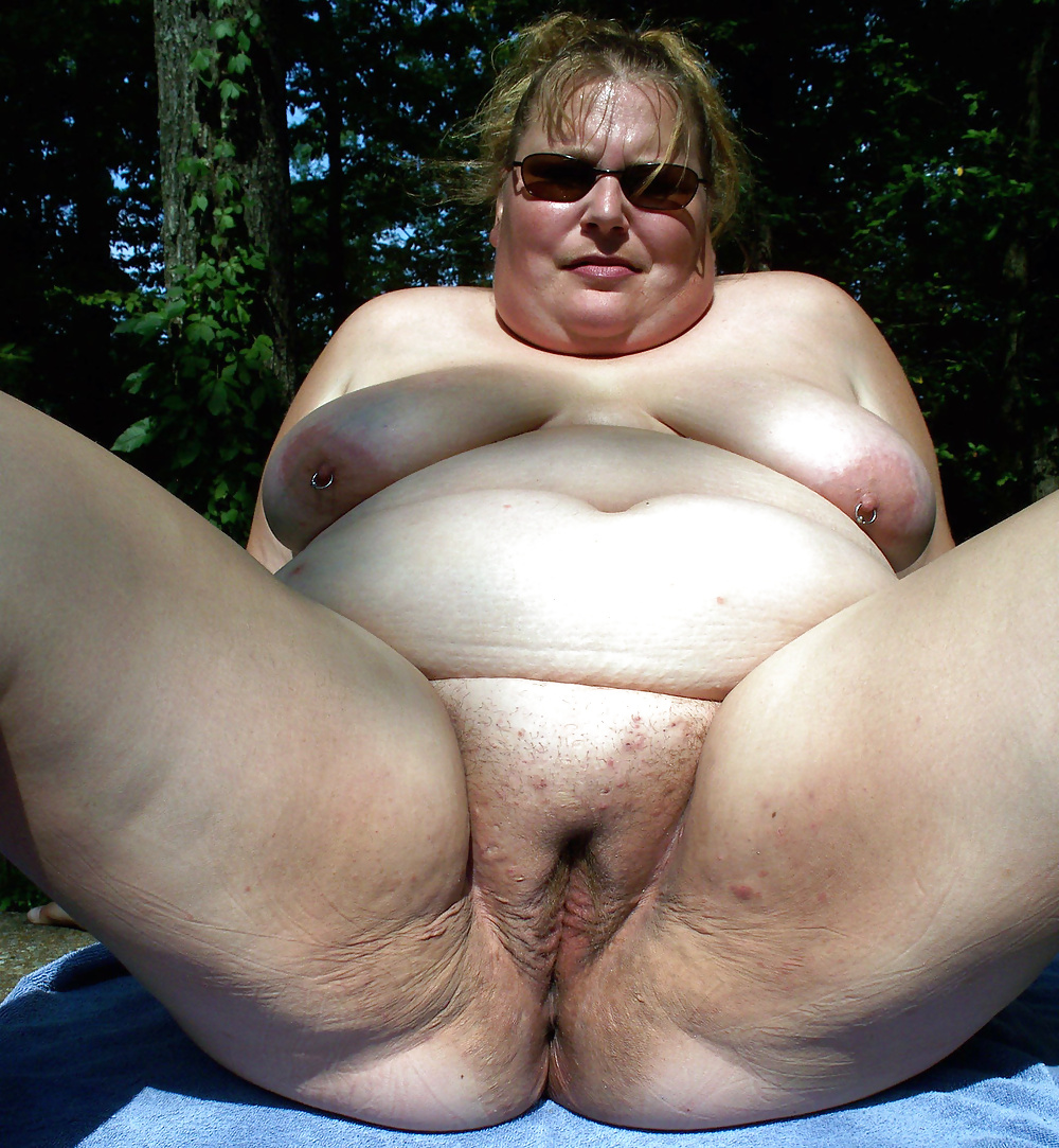 Sexy fat naked grannies — 6