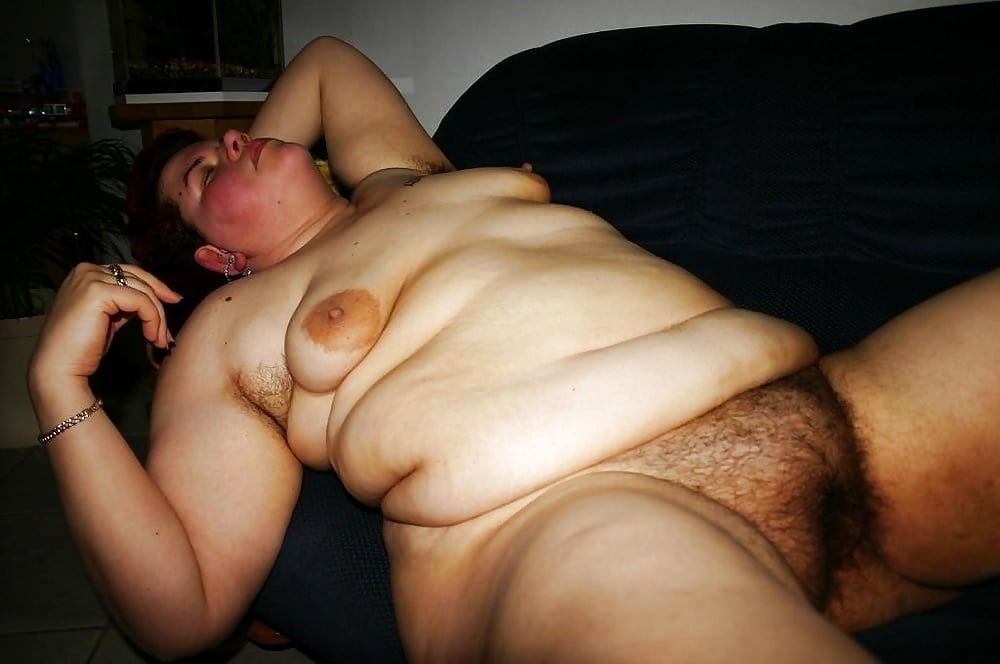 Fat hairy mature big tits