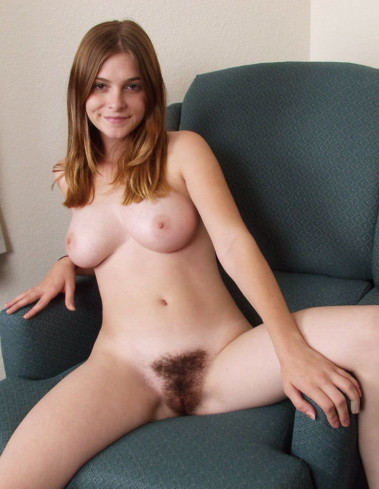 Hairy Blonde Pussy Teen