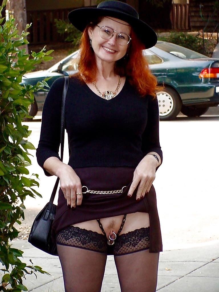 Mature mini skirt and underwear shots — 11