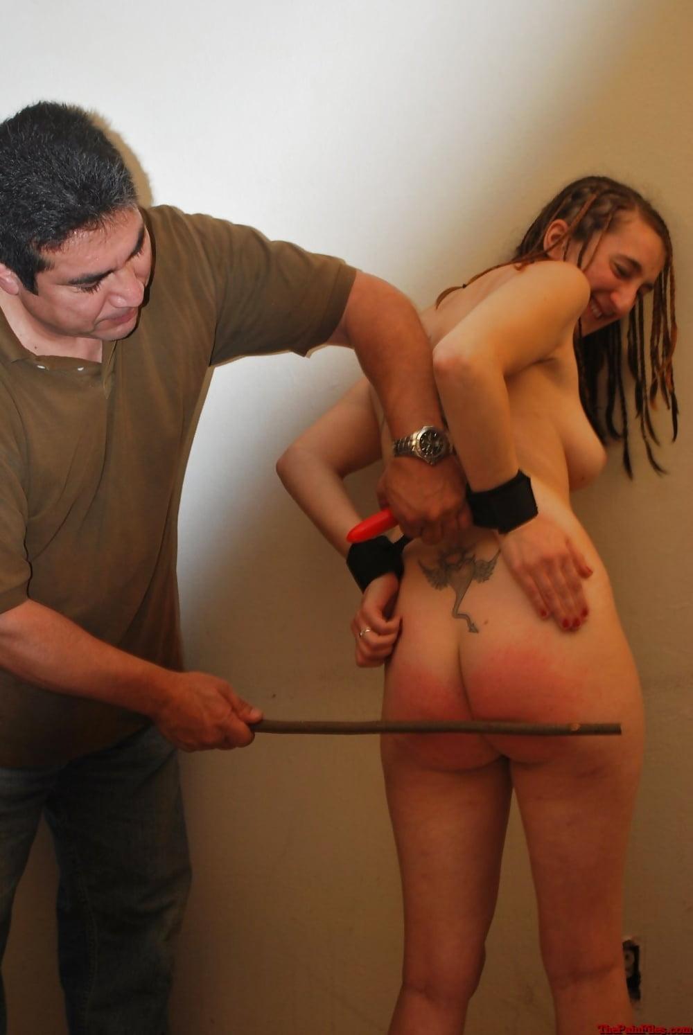 Spanking beautiful disobedient girls