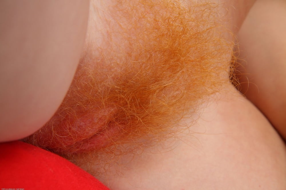 Redhead pussy closeup — photo 7
