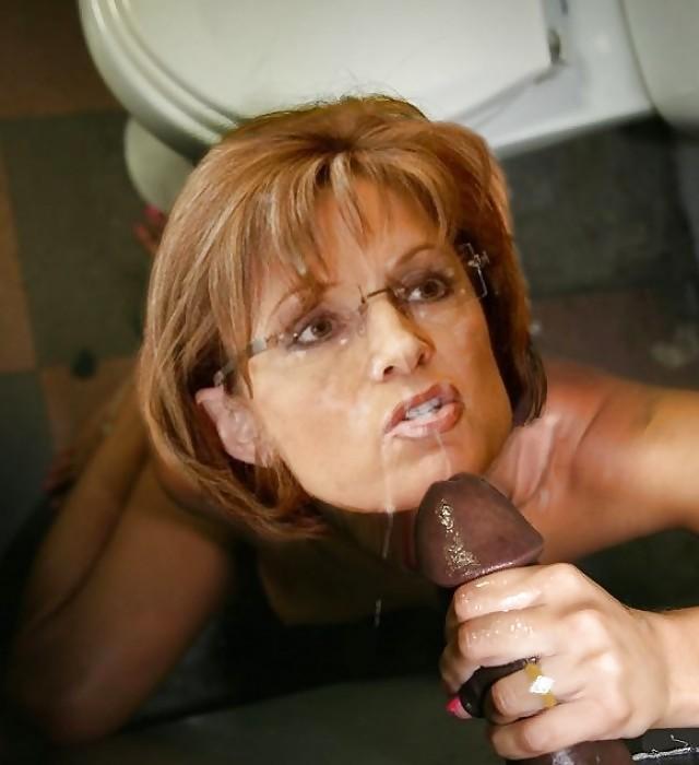 Sarah palin blowjob pics — pic 1