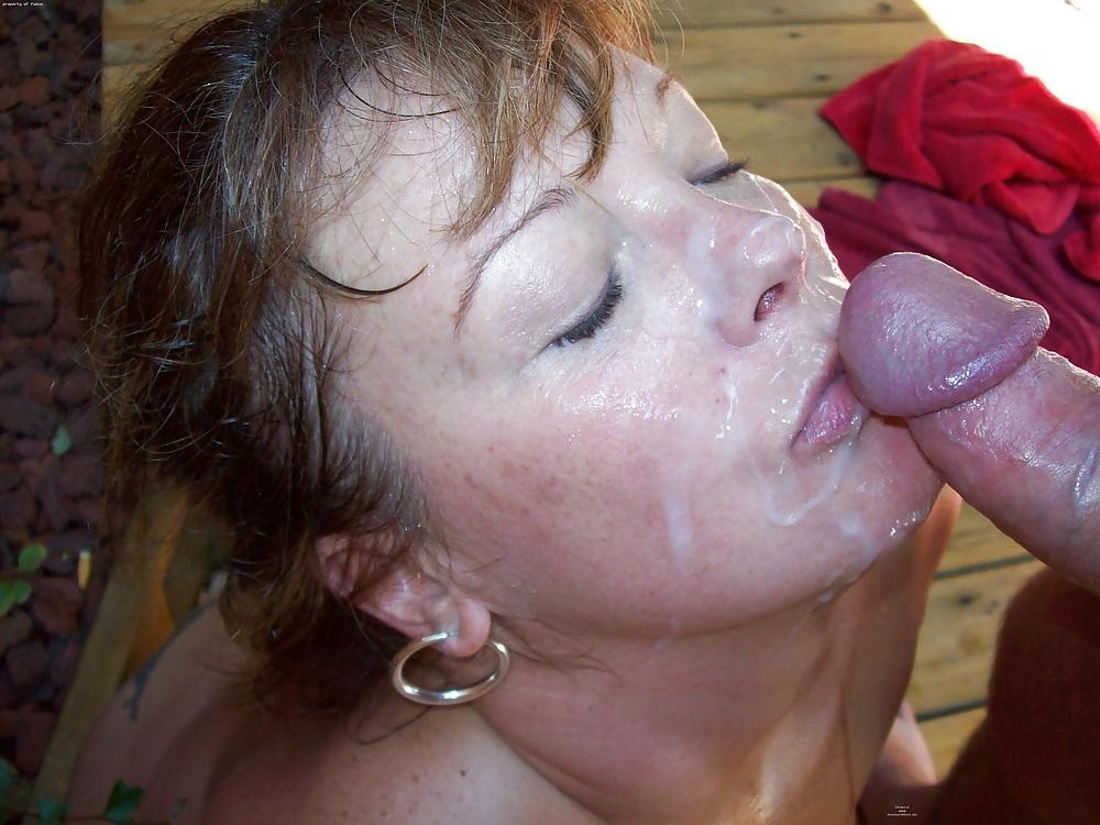 Зрелые русские дамы в сперме фото