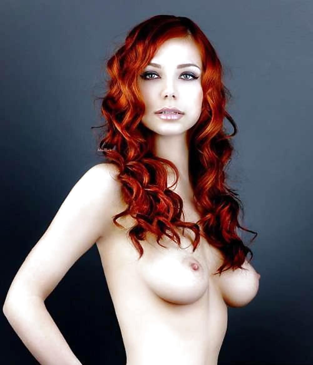Vintage redhead girl naked