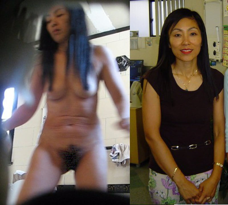 Nude asian mother