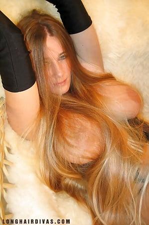 Long hair nude women pics