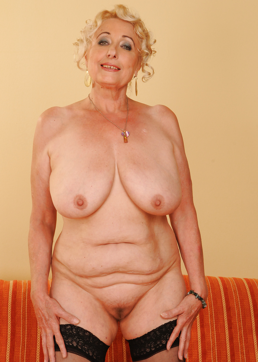 Online porn is very old grandmother
