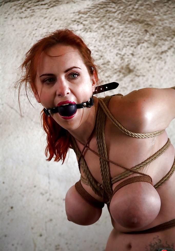 Big tit fuck tied up
