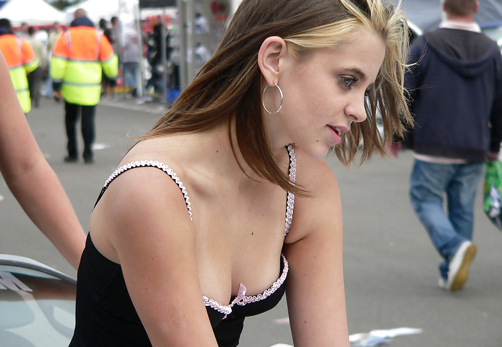 People having candid flat chested breasts sexy