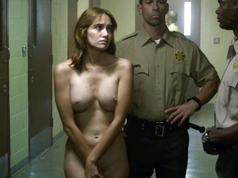 Woman being strip naked