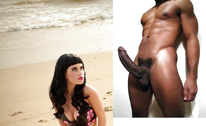 Katy perry black cock