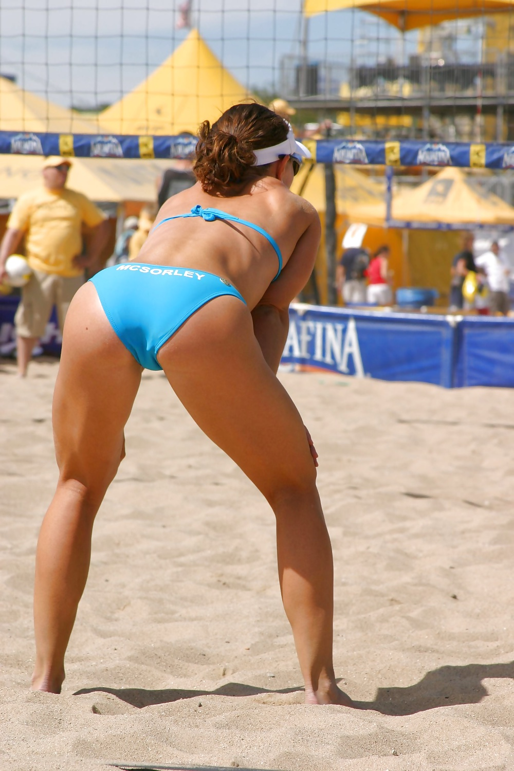 Sport Girls Voyeur Panties Tennis Upskirt Beach Volleyball -6948