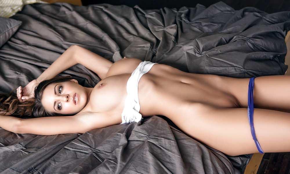 Bed Boobs Legs Luna Model Panties Perfect Dirtyship 1