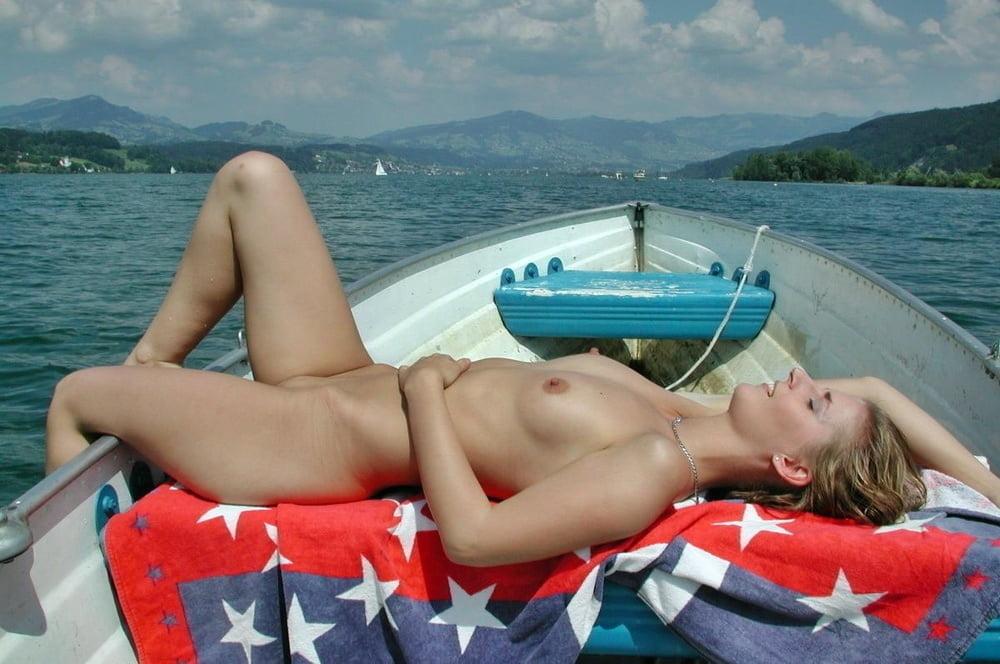Three Gals On A Boat