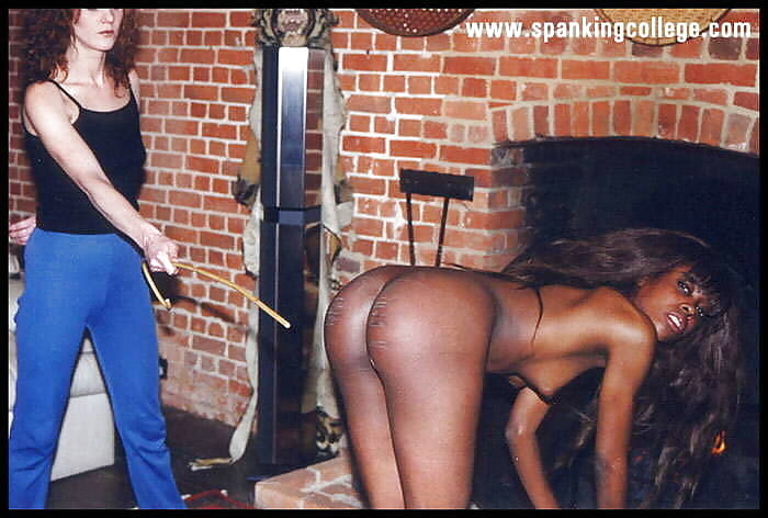 Severe bare bum spanks with crying and pain