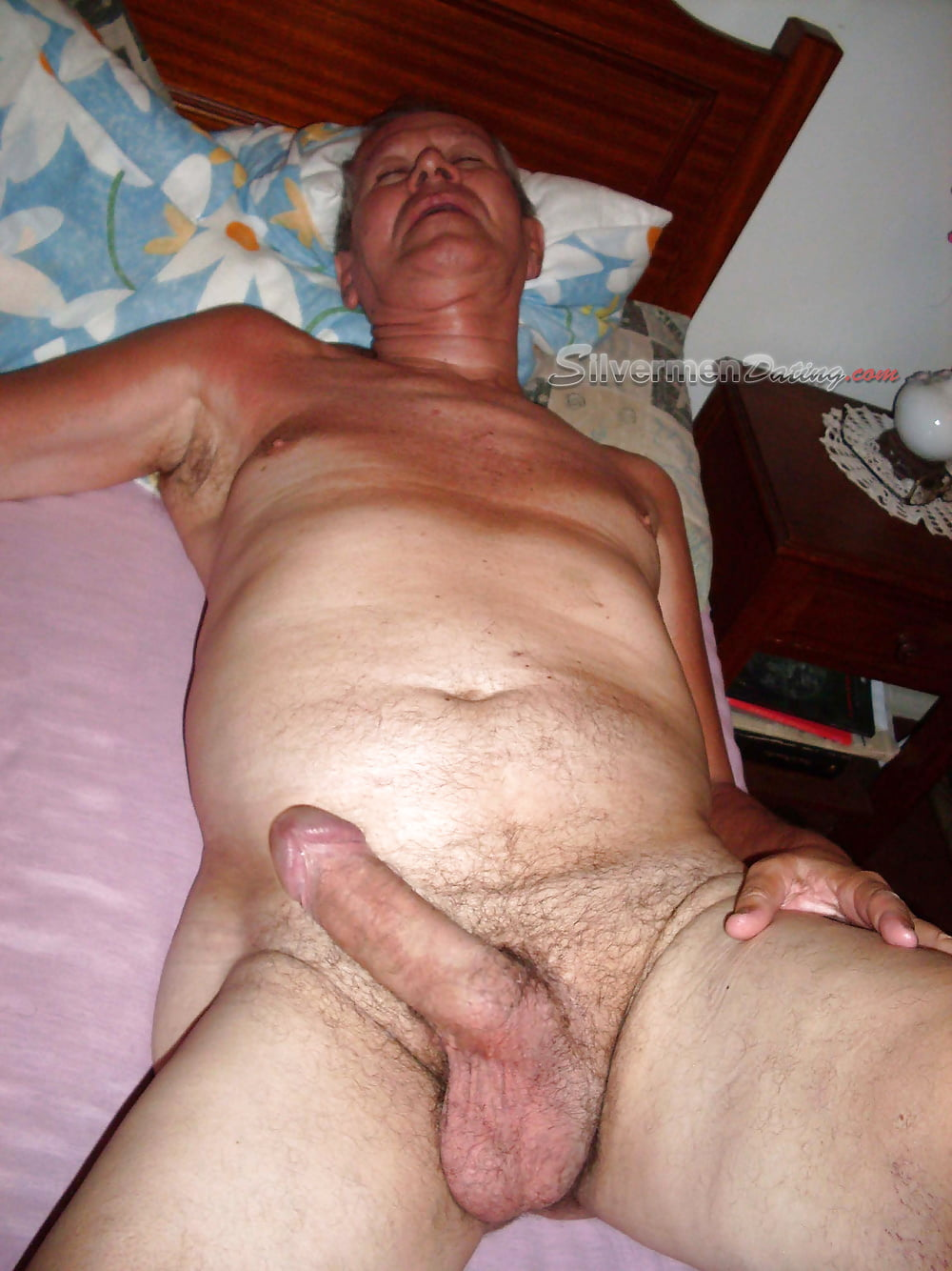 Naked old mature cock — photo 10