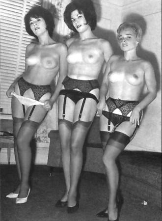 Vintage black and white girls