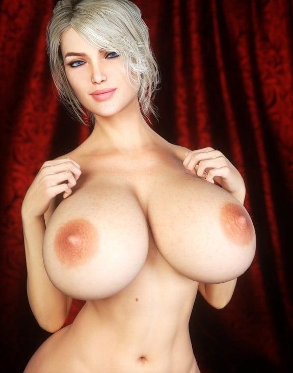 Huge anime tits-5635