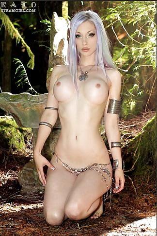 Девушки фэнтези косплей порно #13