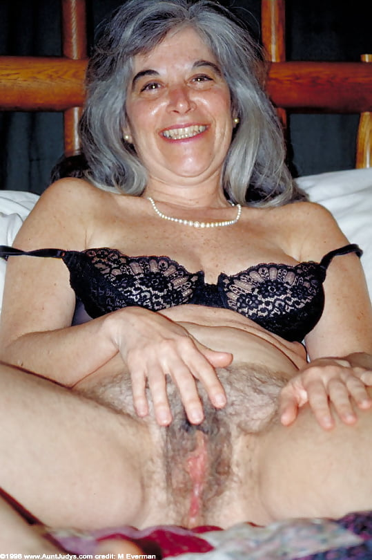 Grey haired pussy pics