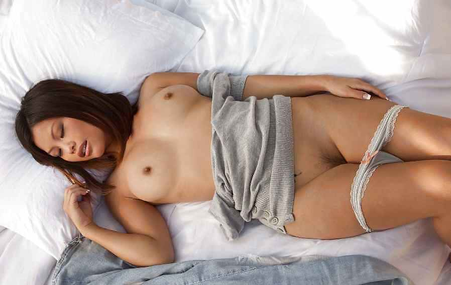 Asian Khyanna Song Takes Off Her Undies Rubs Shaved Slit Bang 1