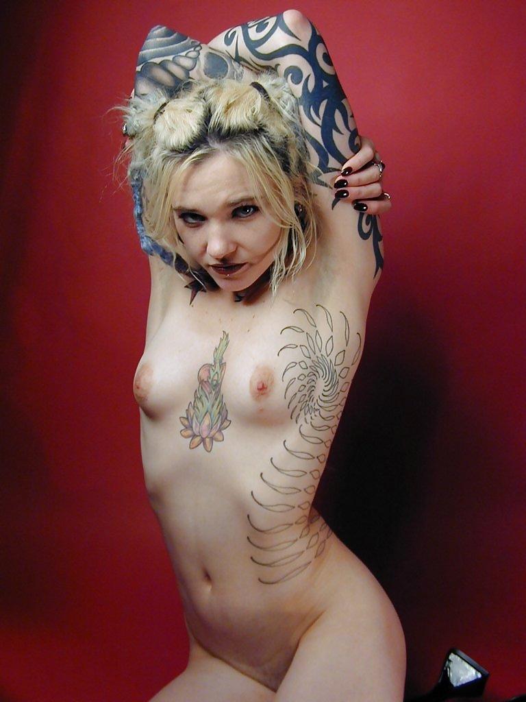 Nude punk girl Wild Emo/Punks