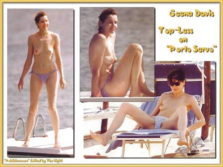 Davis topless gena
