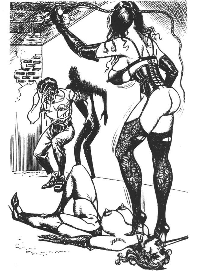 Bill Ward Bdsm Art