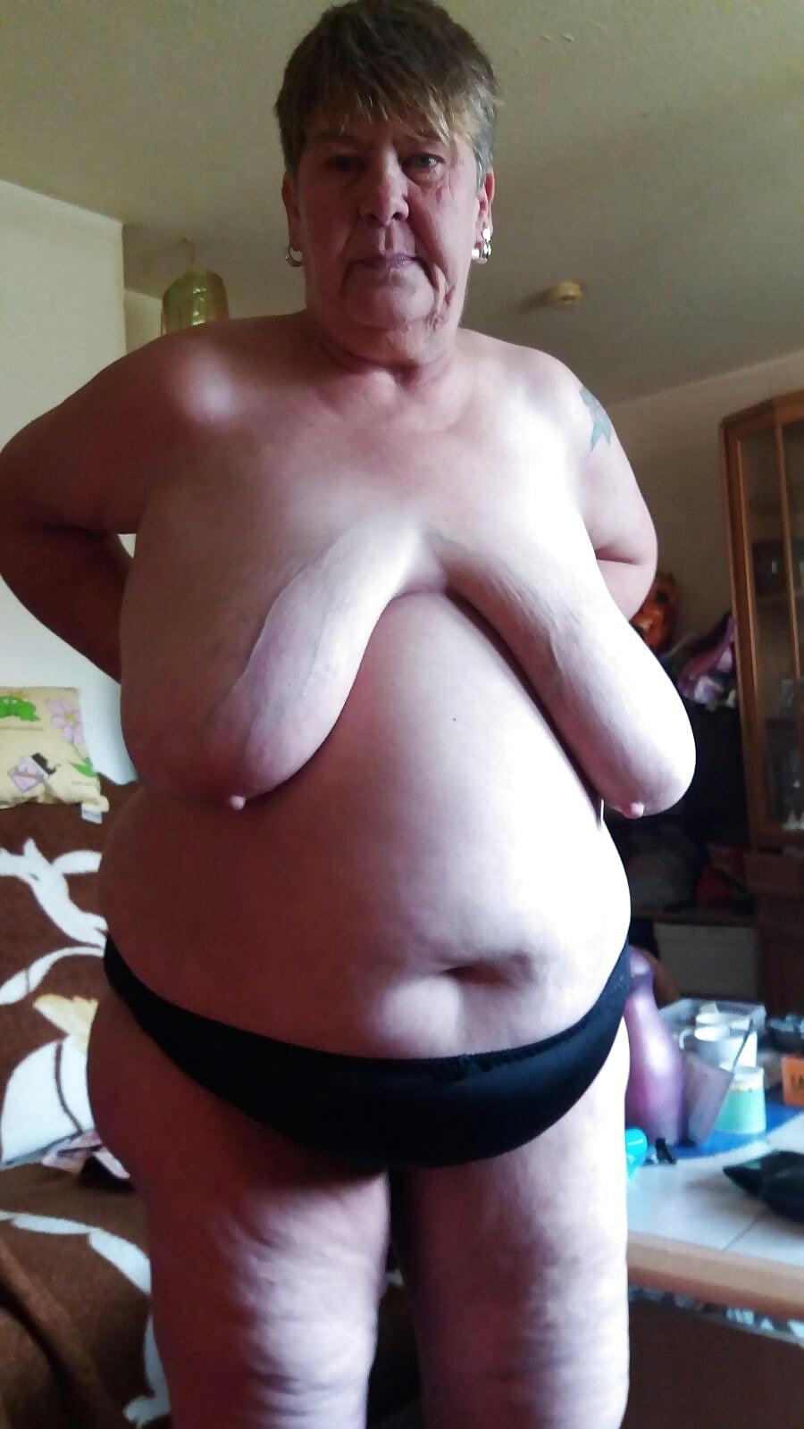 Old granny floppy boobs porn archive