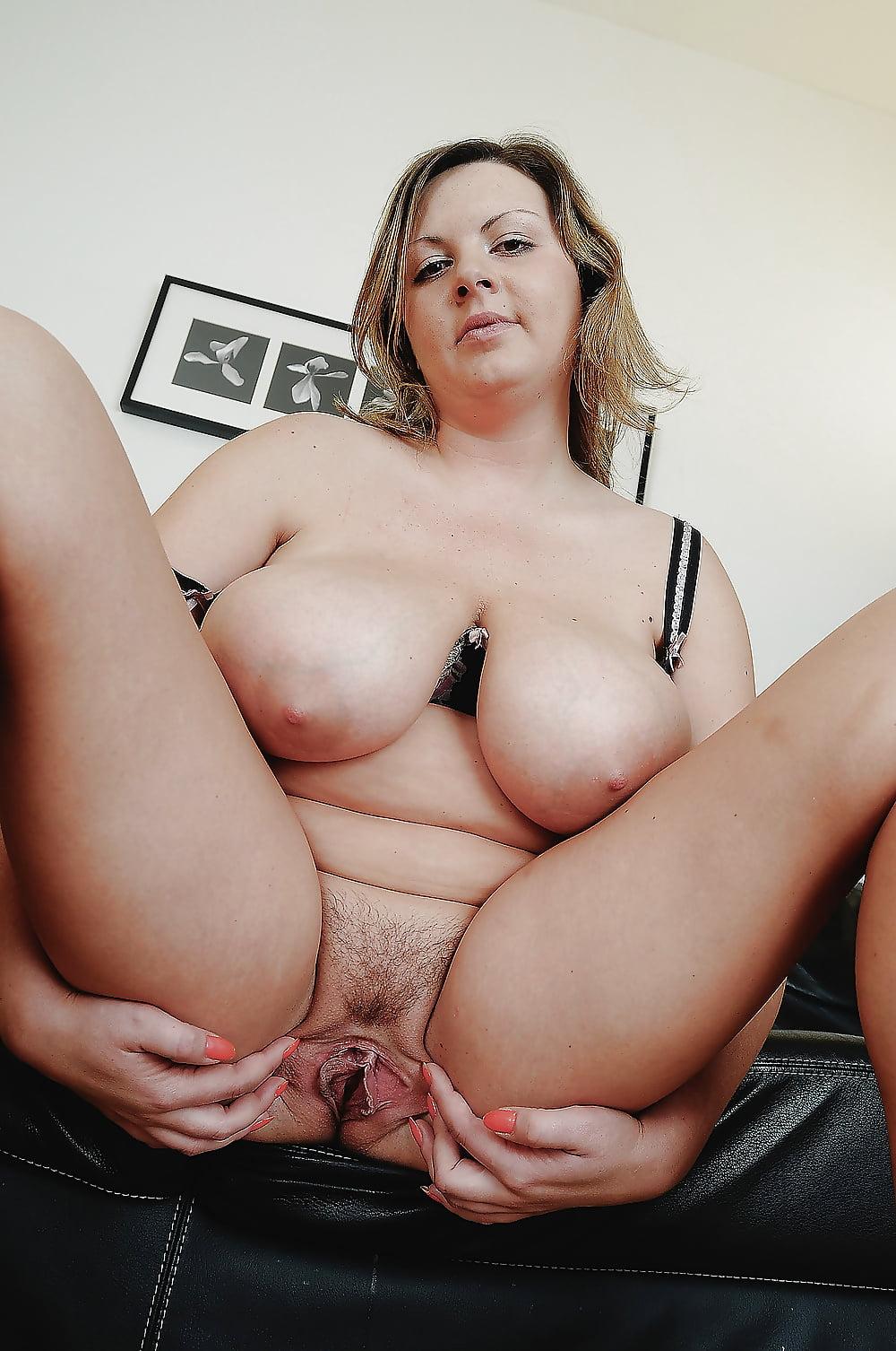 Homemade chubby brunette milf tits