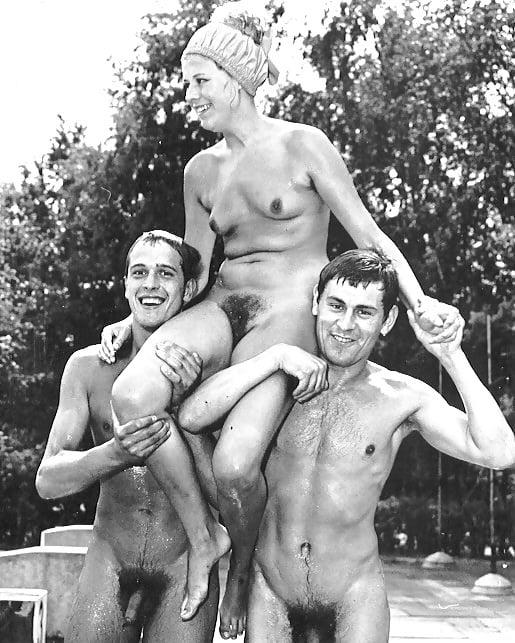 Ретро фото голых мужчин
