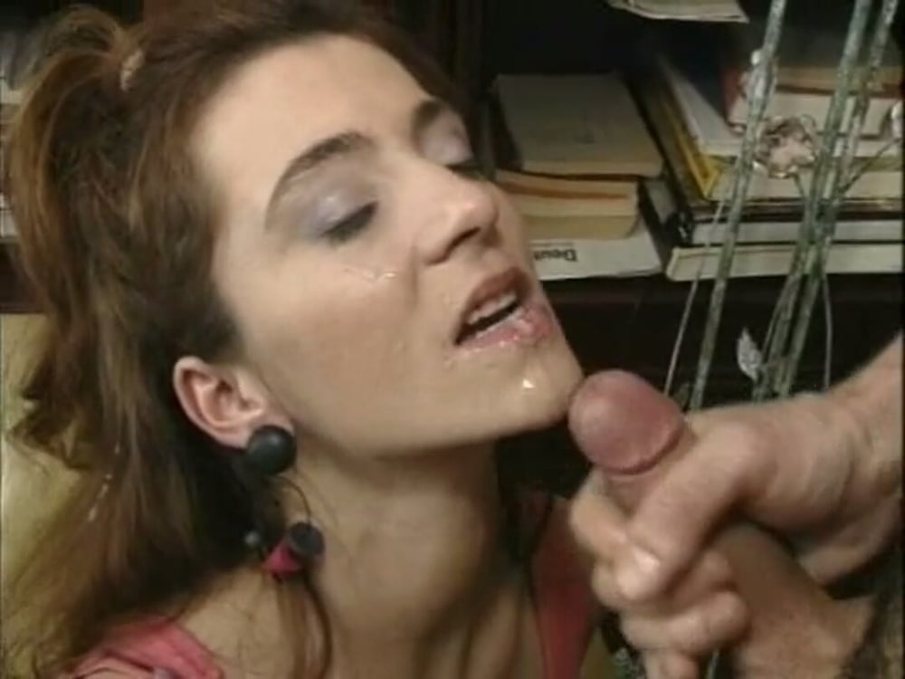 Sucks dick for first time