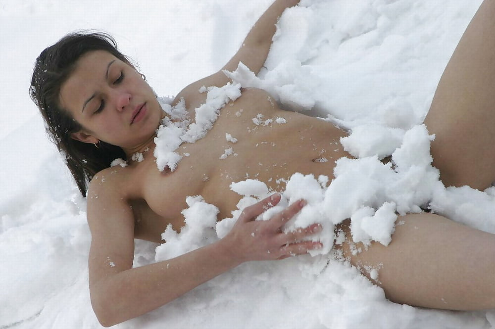 Nude snow blow porn girls and