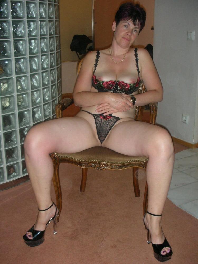 Girl alone home enjoy