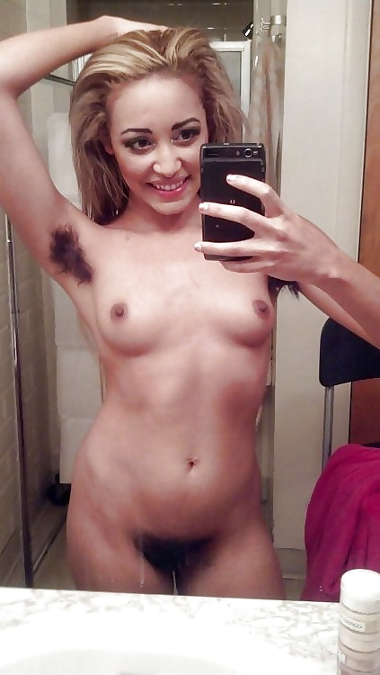 Busty hairy pussy nude selfies
