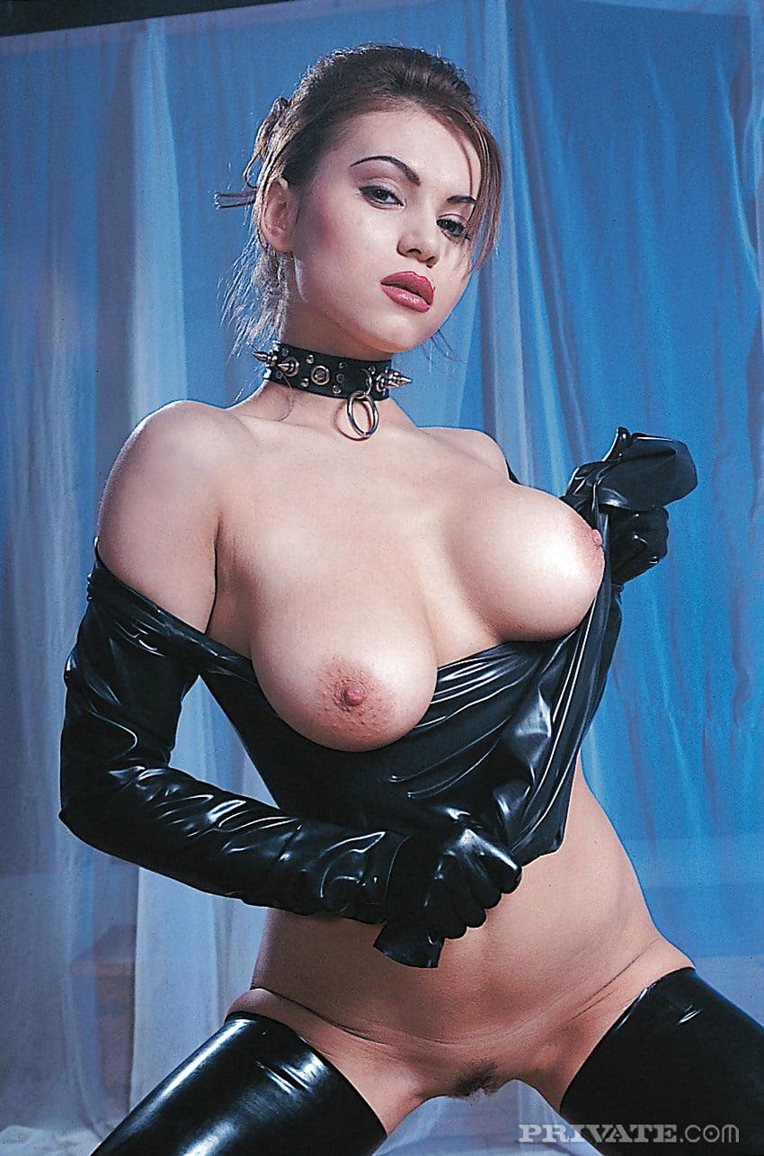 Beautiful Russian Dominatrix Elena Nikulina In Latex 25